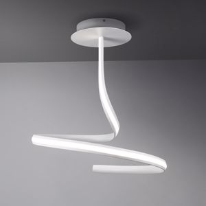 LAMPADARIO MODERNO BIANCO LED 20W 3000KDESIGN ORIGINALE VIVIDA RIBBON