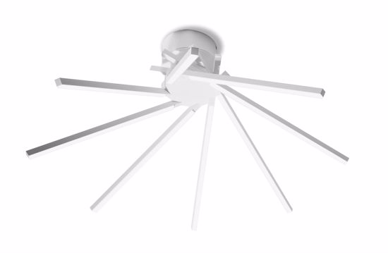 PLAFONIERA LED 21W 3000K VIVIDA SHANG DESIGN MODERNA