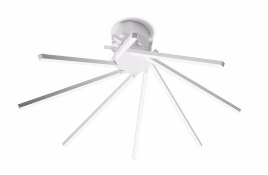 PLAFONIERA DESIGN LED 30W 3000K VIVIDA SHANG MODERNA BIANCA