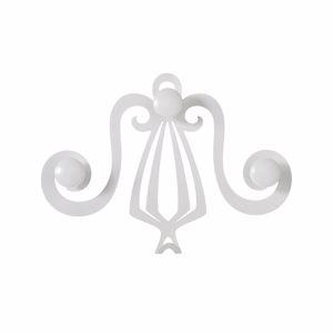 ARTI E MESTIERI MINERVA GANCIO APPENDIABITI DA INGRESSO BIANCO CLASSICO