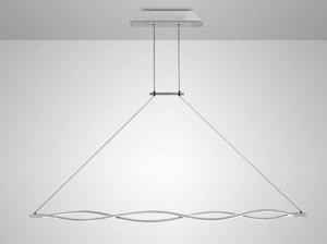 LAMPADARIO MODERNO LED DESIGN PER TAVOLO SOGGIORNO 42W 3000K