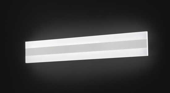 APPLIQUE LED 30W 3000K DESIGN MODERNA PER INTERNI LUCE DIFFUSA