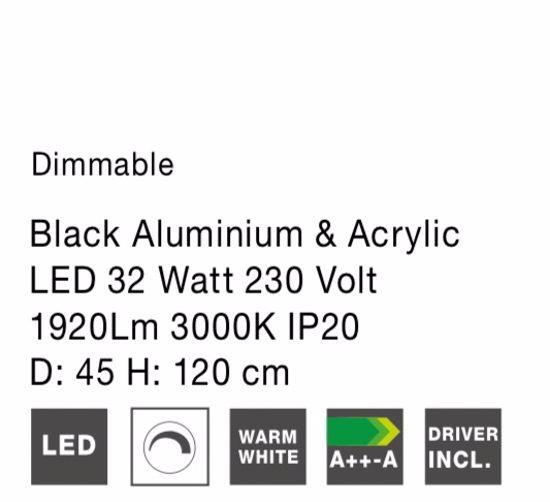 LAMPADARIO ANELLO NICKEL 32W 3000K DIMMERABILE MODERNO PROMOZIONE