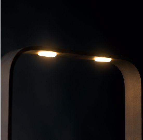 PLAFONIERA LED 35W 4000K DIMMERABILE RETTANGOLARE MARRONE
