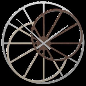OROLOGIO GRANDE 95 CM DA PARETE MODERNO ROVERE WENGE'' THERESA CALLEA DESIGN