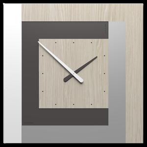 CLOCK63 CALLEA DESIGN OROLOGIO A PARETE MODERNO ROVERE BREEZE