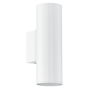 APPLIQUE DA ESTERNO IP44 BIANCO MODERNO LUCE UP E DOWN