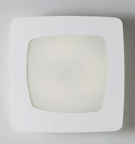 PLAFONIERA LED 30W 3000K 55X55 DESIGN QUADRATO BIANCO STONDATA