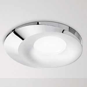 FARETTO DA INCASSO A TETTO GU10 LED PER CONTROSOFFITTO CROMO DESIGN MODERNO
