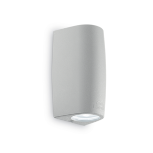 APPLIQUE DA ESTERNO IP44 GU10 LED 4000K GRIGIO LUCE UP E DOWN