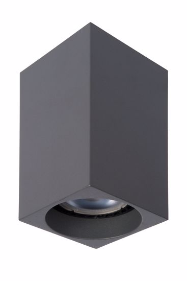 FARETTO LED CON LAMPADINA GU10 5W 3000K DIMMERABILE GRIGIO ANTRACITE