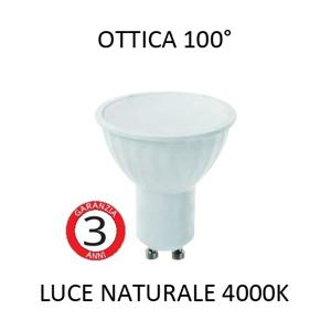 TOPLIGHT LAMPADINA LED GU10 5W 4000K 440LM BIANCA OTTICA 100 GRADI