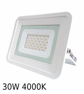 APPLIQUE DA ESTERNO PROIETTORE LED 30W 4000K IP65 BIANCO