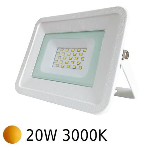 FARO PROIETTORE DA ESTERNO LED IP65 20W 3000K ORIENTABILE