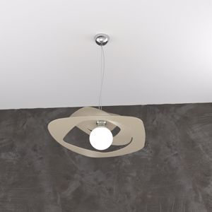 LAMPADARIO CUCINA MODERNA IN METALLO SABBIA TOP LIGHT WARPED