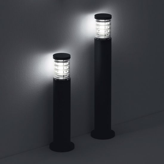 LAMPIONCINO ANTRACITE MODERNO DA ESTERNO GIARDINO IP44