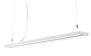LAMPADARIO LED PER UFFICIO 40W 4000K IP40 BIANCO