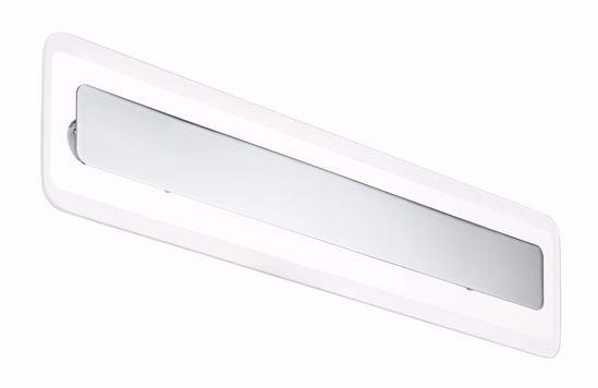 APPLIQUE LED CROMO DESIGN MODERNO LINEA LIGHT ANTILLE