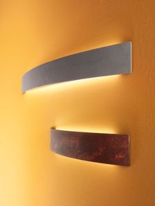 APPLIQUE LED CURVÈ METALLO CORTEN LINEA LIGHT