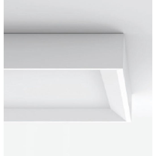 LINEA LIGHT TARA PLAFONIERA LED 22W 3000K 30CM METALLO BIANCO