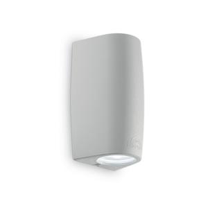 APPLIQUE DA ESTERNO MODERNA 1 LAMPADINA LED G9 4,5W INCLUSE GRIGIO