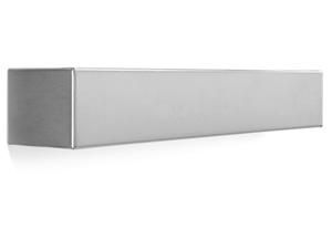 APPLIQUE GRIGIO SQUADRATO 61CM DESIGN MODERNO LINEA LIGHT BOX