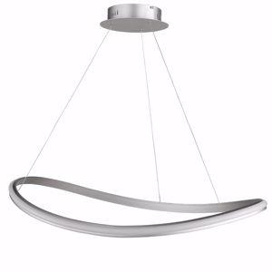 LAMPADARIO DESIGN MODERNO LED 49W 3000K PER SALOTTO