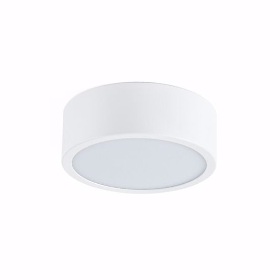 PLAFONIERA BIANCA LINEA LIGHT BOX 17W 3000K LED ROTONDA