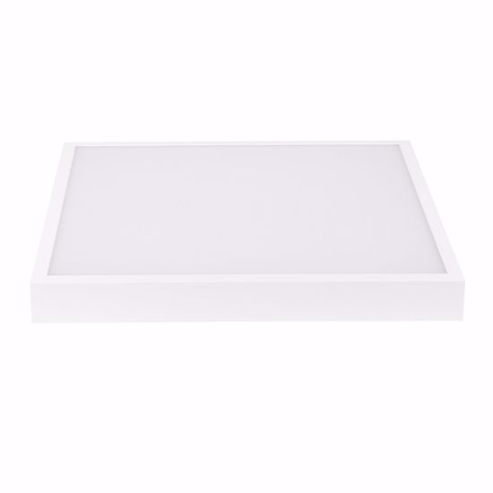 PLAFONIERA GRANDE LINEA LIGHT BOX LED BIANCA QUADRATA 43W 4000K