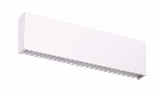 BOX APPLIQUE LED MODERNA LINEA LIGHT BIANCA 14W 3000K