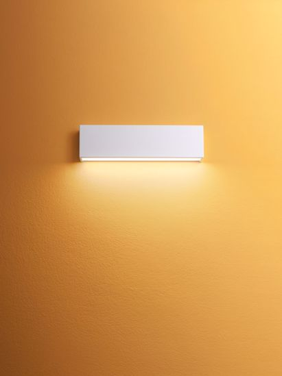 APPLIQUE LED LINEA LIGHT BOX BIANCA RETTANGOLARE MODERNA
