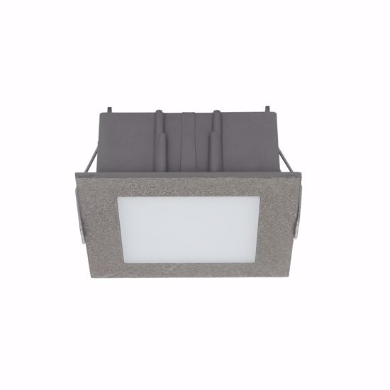 FARETTO LED INCASSO CONTROSOFFITTO GRIGIO CEMENTO LINEALIGHT 5W 3000K
