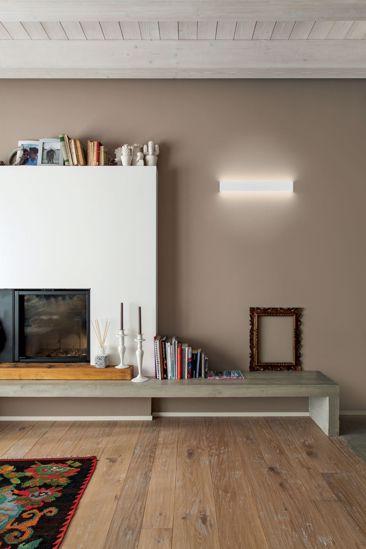 LINEALIGHT BOX APPLIQUE LED DOPPIA LUCE BIANCA 19W 3000K BIANCA