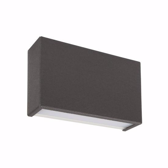 APPPLIQUE LED UP&DOWN LINEALIGHT BOX 10W 4000K GRIGIO CEMENTO