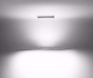 LAMPADARIO MODERNO LED 38W 3000K DESIGN METALLO ALLUMINIO
