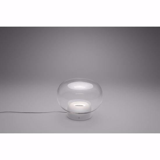 ABATJOUR LAMPADE DA COMODINO MODERNE TRASPARENTE LED