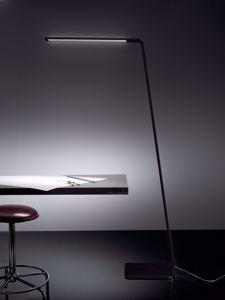 LAMPADA DA TERRA LED MODERNA NERO 3000K