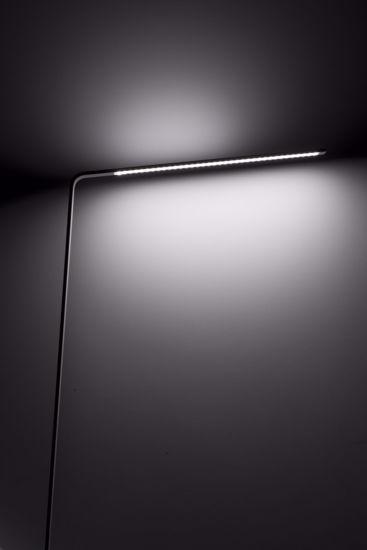 LAMPADA DA TERRA MODERNA NERO 3000K DIMMERABILE LED