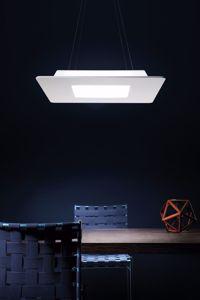 LAMPADARIO MODERNO LED 28W 3000K BIANCO