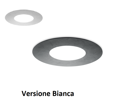 PLAFONIERA LED BIANCA ROTONDA 32W