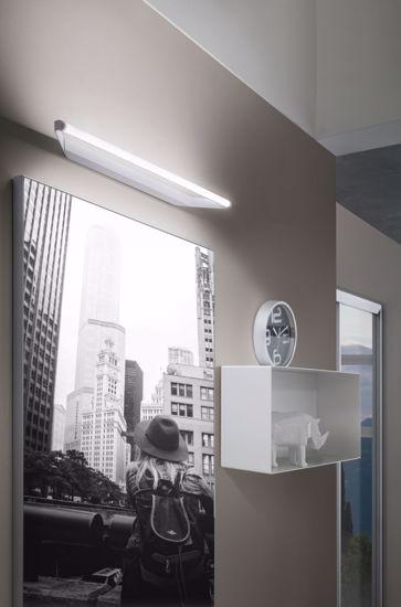 LINEA LIGHT APPLIQUE LED 19W SPECCHIO BAGNO BIANCA CIRCULAR