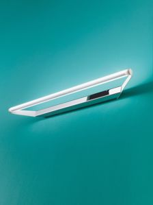 CIRCULAR LINEA LIGHT APPLIQUE LED SPECCHIO PER BAGNO CROMO 19W