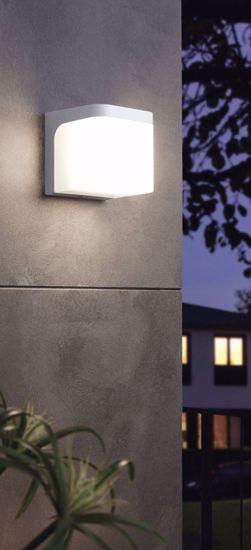 APPLIQUE DA ESTERNO DESIGN MODERNO LED 5W 3000K COLORE BIANCO