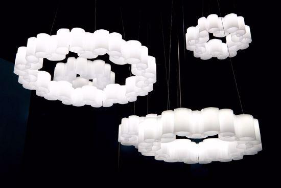 LAMPADARI MODERNI PER SALOTTO LED BIANCO 8684