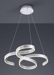 LAMPADARIO A LED MODERNO GRIGIO DESIGN ORIGINALE DIMMERABILE