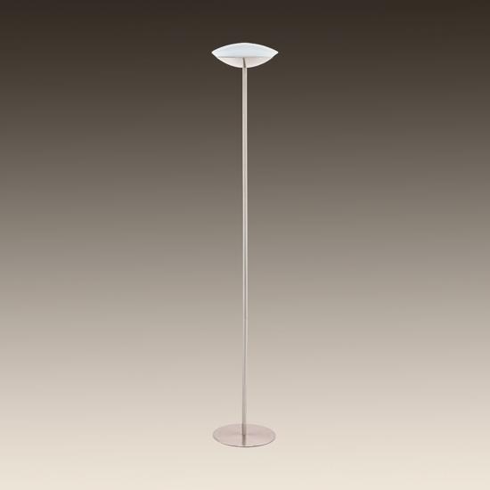 PIANTANA MODERNA DIMMERABILE LED 18W RGB NICKEL DESIGN MINIMAL