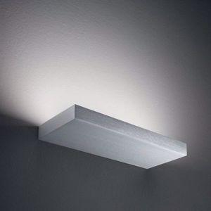 APPLIQUE LED 18W IN ALLUMINIO ANODIZZATO MONOEMISSIONE REGOLO LINEA LIGHT