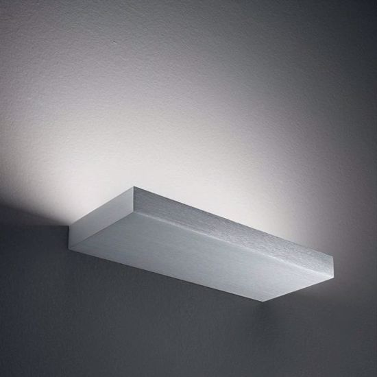 LINEALIGHT REGOLO APPLIQUE LED 36W ANODIZZATO DESIGN MINIMAL MONOEMISSIONE