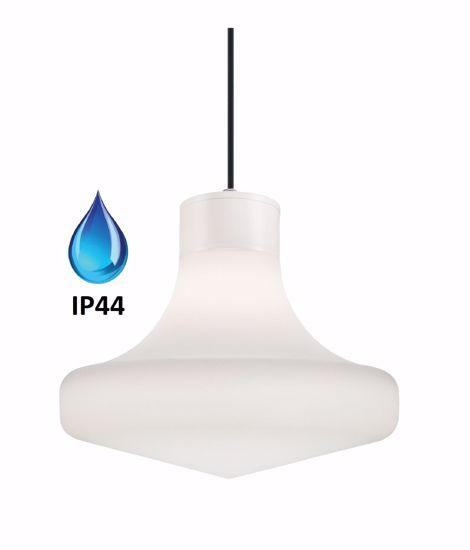 LAMPADARIO PER BGNO BIANCO IP44