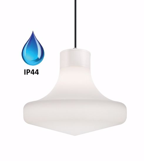 LAMPADARIO PER ESTERNO DA GIARDINO GRIGIO IP44
